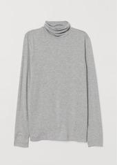 H&M H & M - Turtleneck Top - Gray