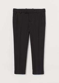 H&M H & M - Tuxedo Pants - Black