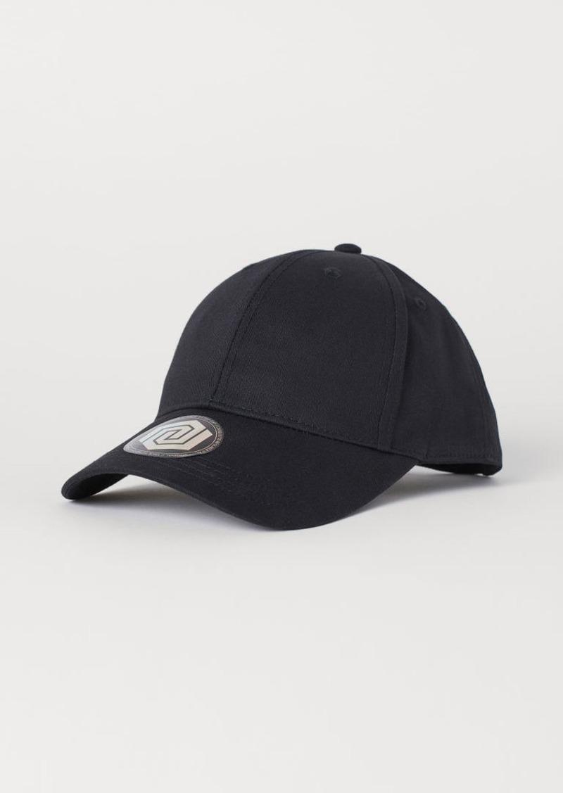 H&M H & M - Twill Cap - Black