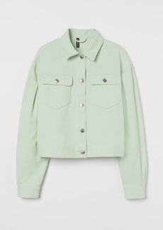 H&M H & M - Twill Jacket - Green
