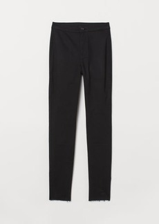 H&M H & M - Twill Pants - Black