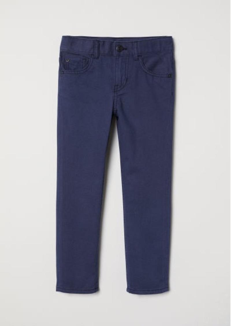 H&M H & M - Twill Pants - Blue