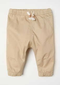 H&M H & M - Twill Pull-on Pants - Beige