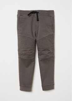 H&M H & M - Twill Pull-on Pants - Gray