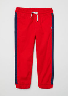 H&M H & M - Twill Pull-on Pants - Red