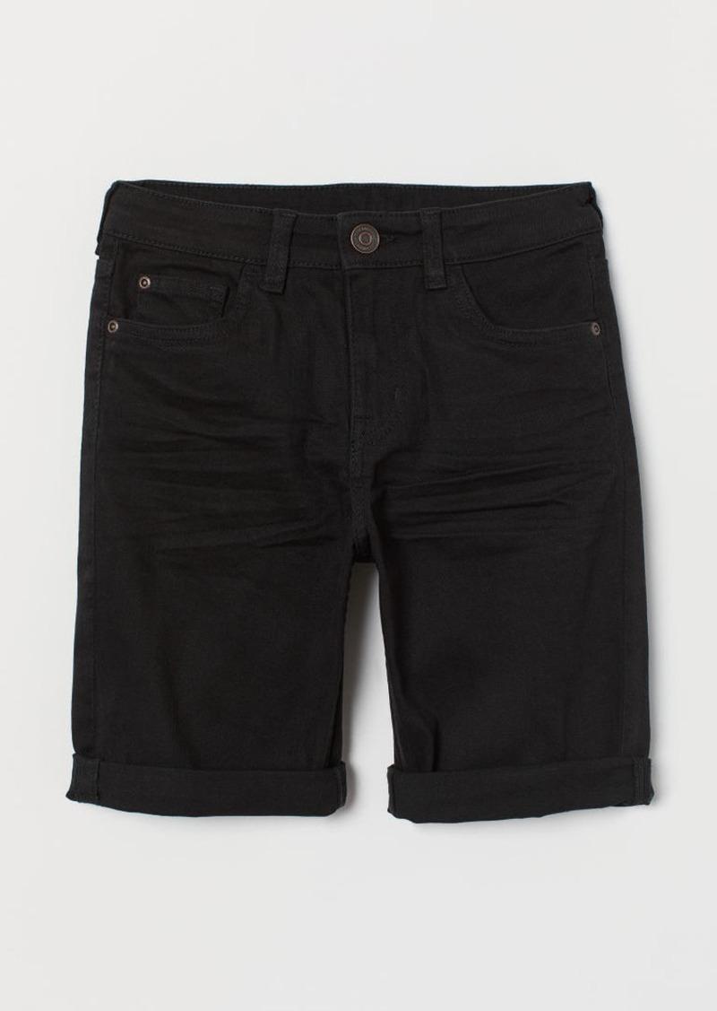 H&M H & M - Twill Shorts - Black
