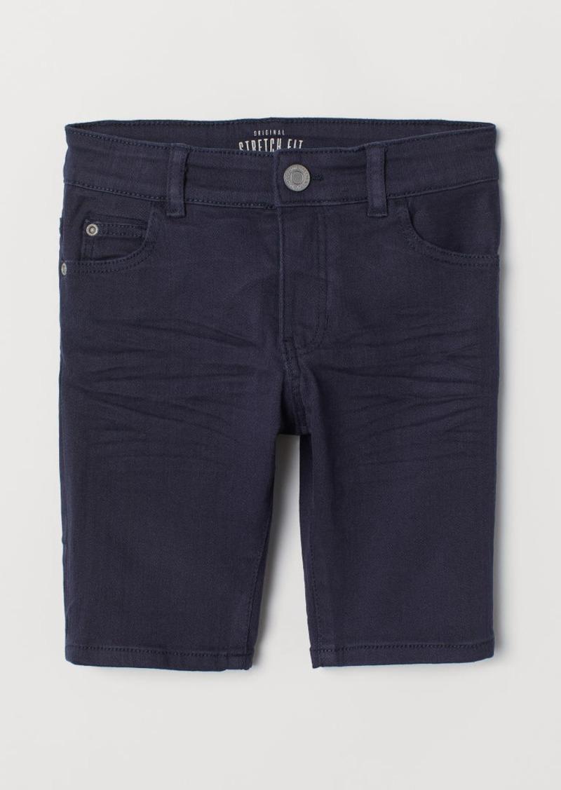 H&M H & M - Twill Shorts - Blue