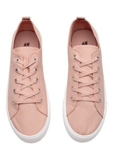 H&M H & M - Canvas Sneakers - Orange