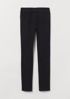 H&M H & M - Twill Treggings - Black