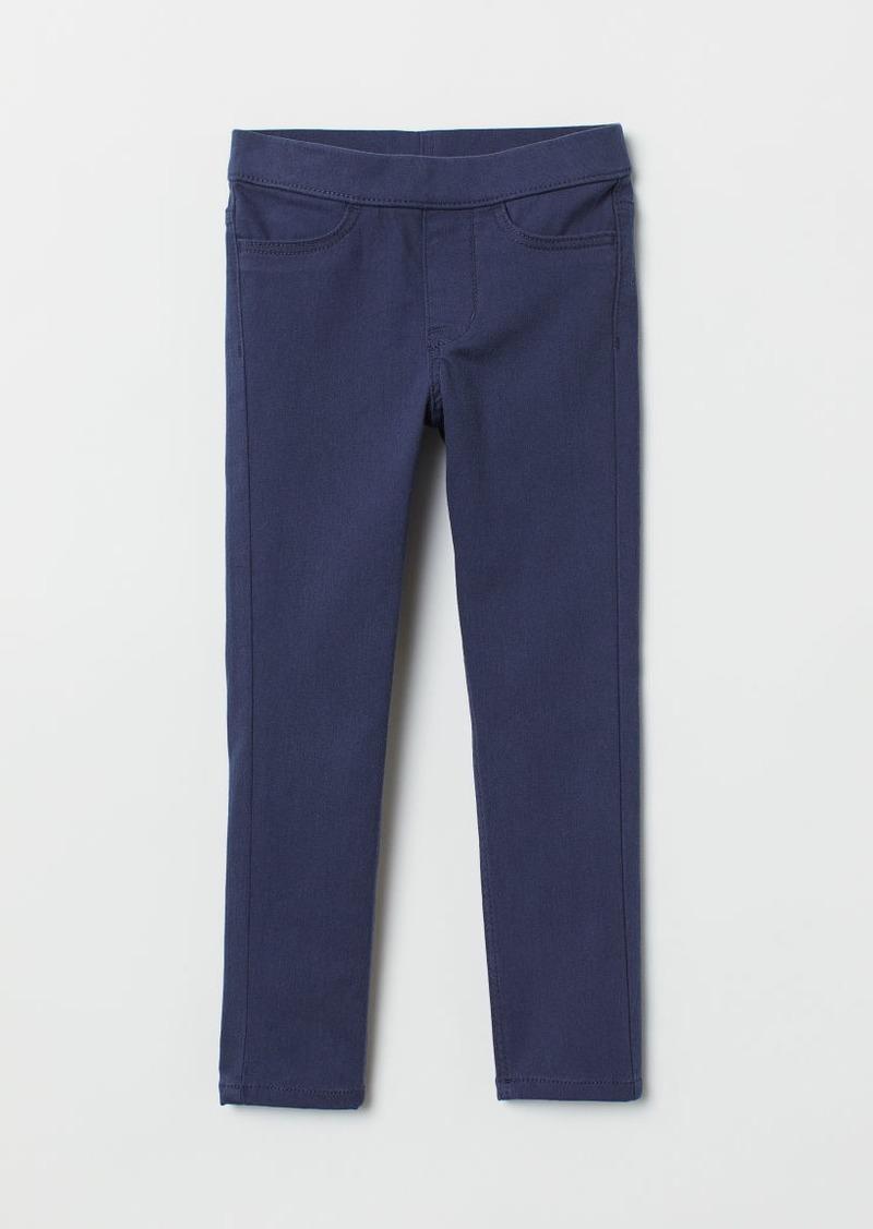 H&M H & M - Twill Treggings - Blue