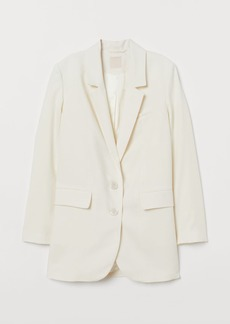 H&M H & M - Single-breasted Blazer - White