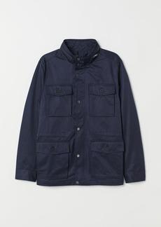 H&M H & M - Utility Jacket - Blue