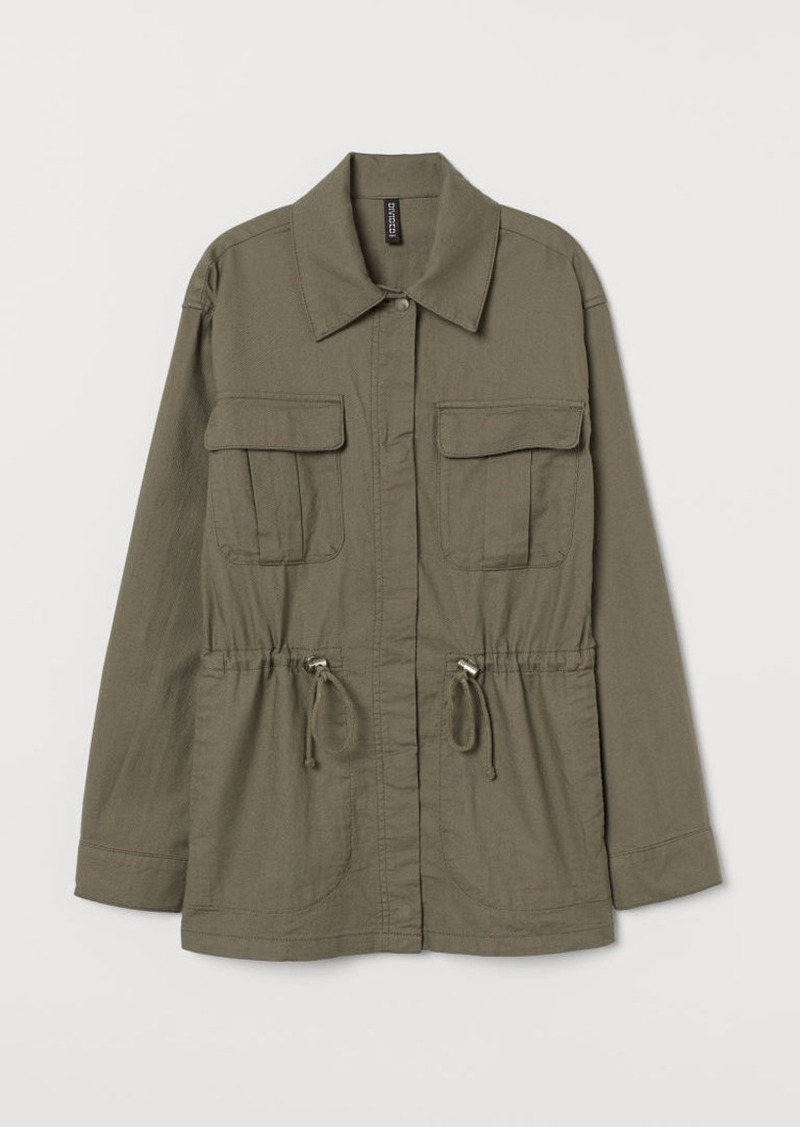 H&M H & M - Utility Jacket - Green