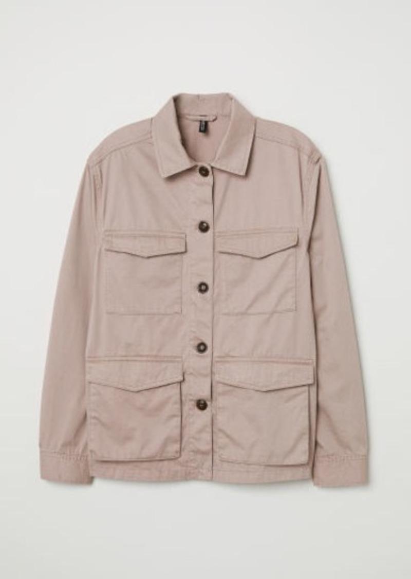 894d1e3fca H&M H & M - Utility Jacket - Pink   Outerwear