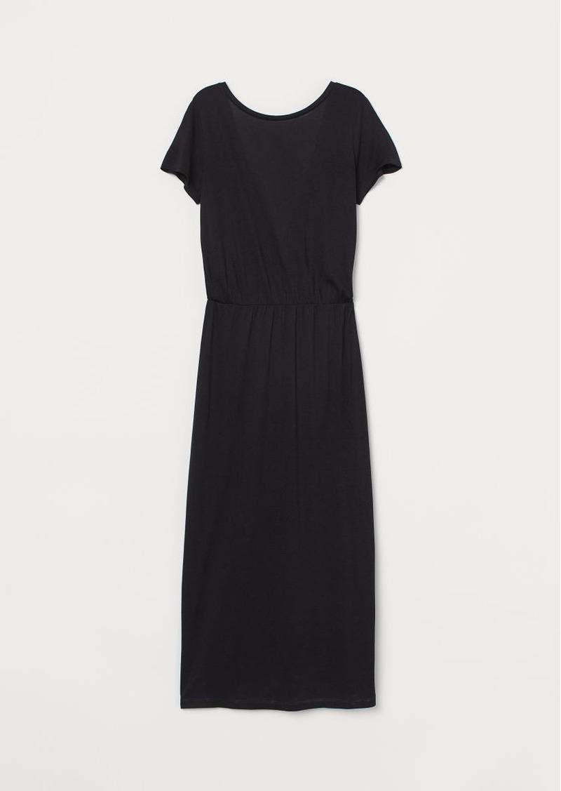 H&M H & M - V-back Dress - Black