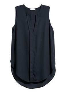H&M H & M - V-neck Blouse - Blue