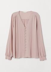 H&M H & M - V-neck Blouse - Pink