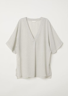 H&M H & M - V-neck Blouse - White