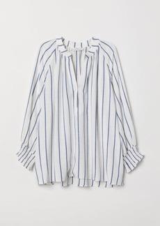 H&M H & M - V-neck Blouse - White