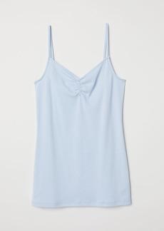 H&M H & M - V-neck Camisole Top - Blue