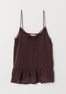 H&M H & M - V-neck Camisole Top - Red