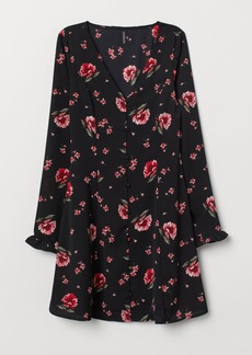 H&M H & M - V-neck Dress - Black