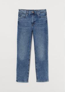 H&M H & M - Vintage Slim High Ankle Jeans - Blue