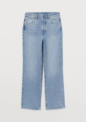 H&M H & M - Vintage Straight High Jeans - Blue