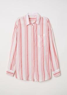 H&M H & M - Viscose-blend Shirt - Pink