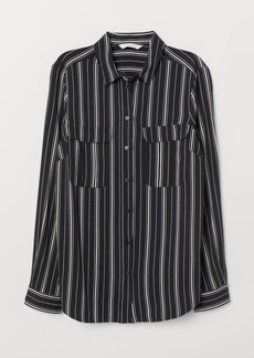 H&M H & M - Viscose Blouse - Black