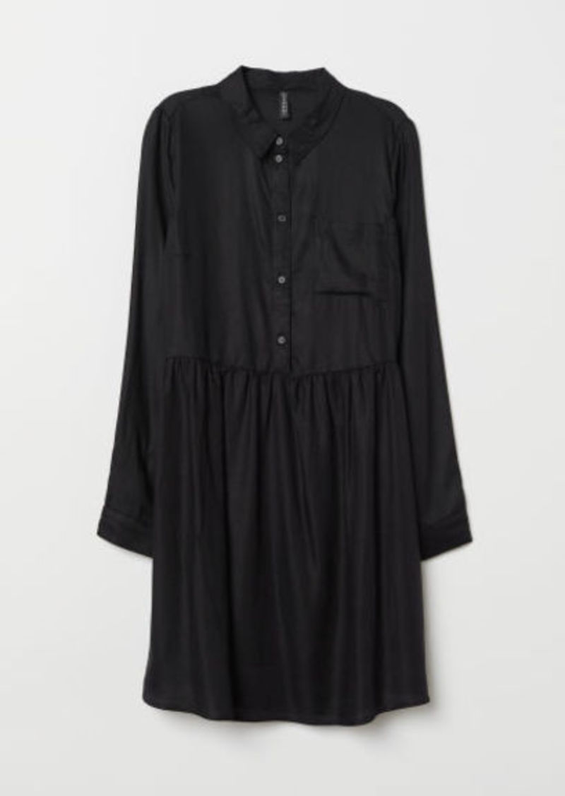 H&M H & M - Viscose Dress - Black