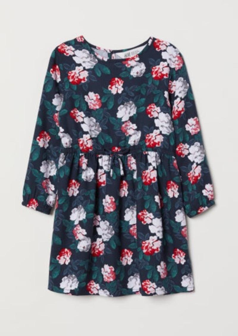 H&M H & M - Viscose Dress - Blue