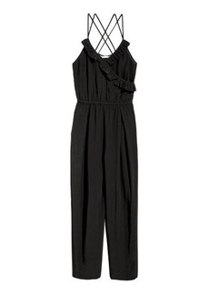 H&M H & M - Viscose Jumpsuit - Black