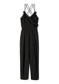 H&M H & M - Viscose Jumpsuit - Black