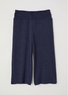 H&M H & M - Viscose Pants with Smocking - Blue