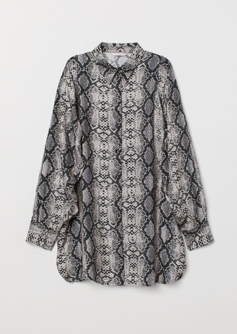 H&M H & M - Viscose Shirt - Brown