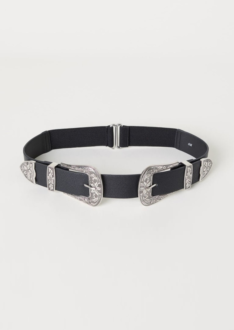 H&M H & M - Waist Belt - Black