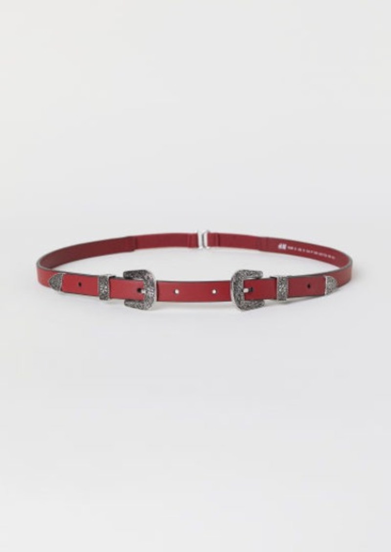 H&M H & M - Waist Belt - Red