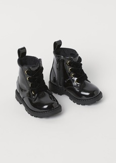 H&M H & M - Warm-lined Boots - Black
