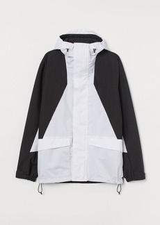 H&M H & M - Water-repellent Shell Jacket - White