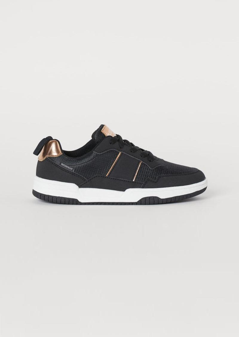 H&M H & M - Waterproof Sneakers - Black