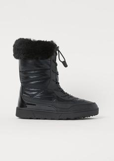 H&M H & M - Waterproof Winter Boots - Black