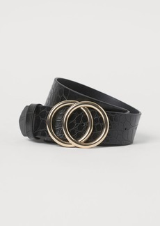 H&M H & M - Wide Belt - Black