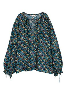 H&M H & M - Wide-cut Blouse - Blue
