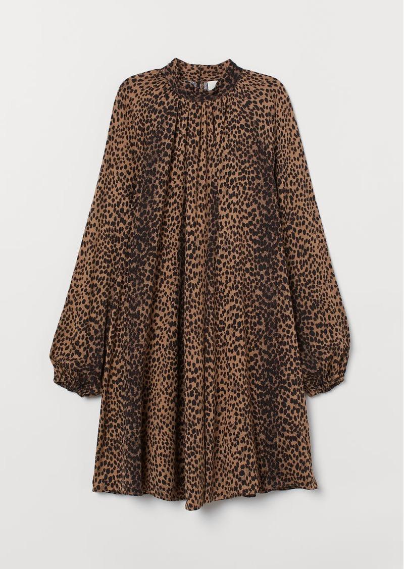 H&M H & M - Wide-cut Dress - Beige