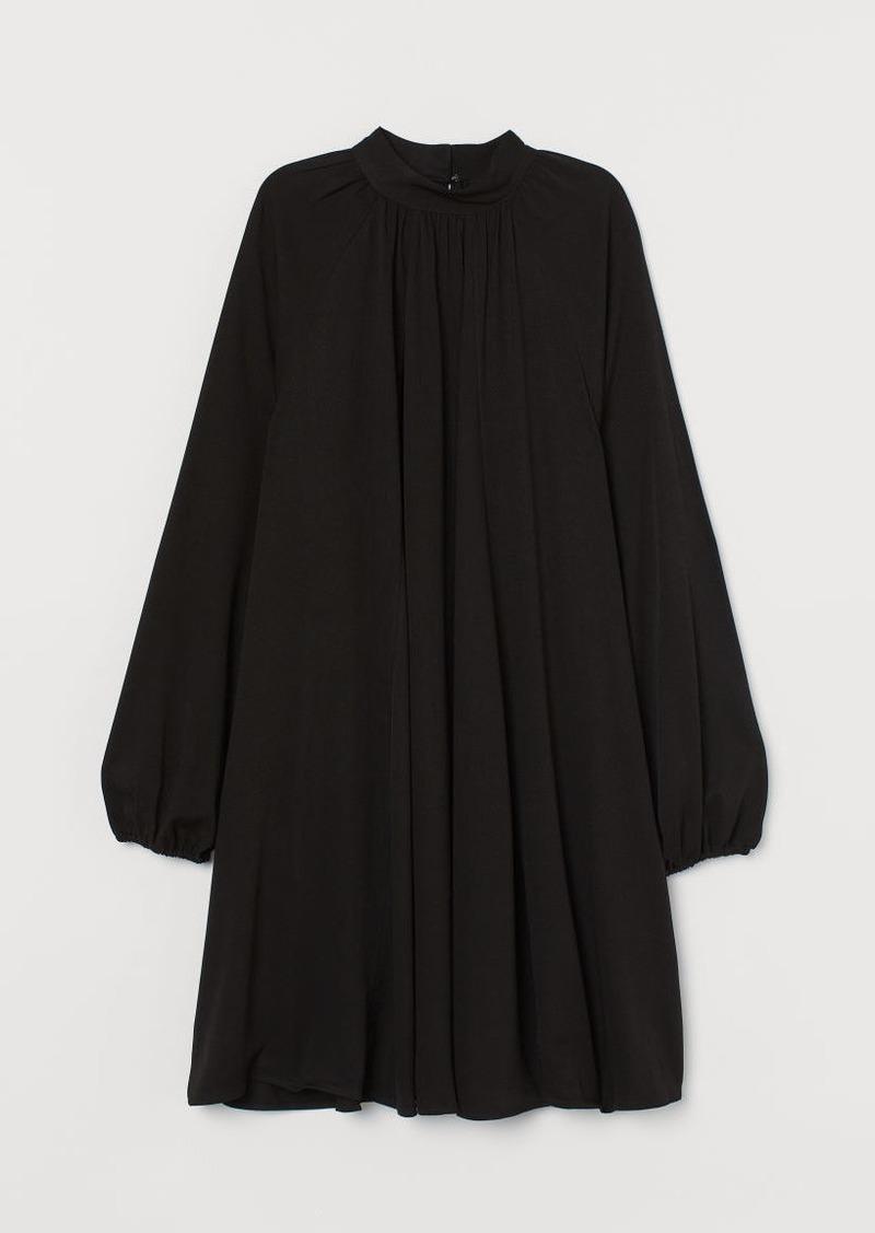 H&M H & M - Wide-cut Dress - Black