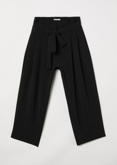 H&M H & M - Wide-cut Pants - Black