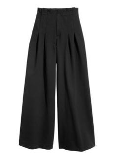 H&M H & M - Wide-cut Pants - Black