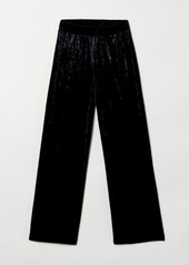 H&M H & M - Wide-cut Pull-on Pants - Black