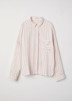 H&M H & M - Wide-cut Shirt - Pink